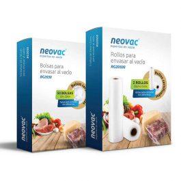 Rollos Gofrados para Envasado al Vacio Neovac RG28500